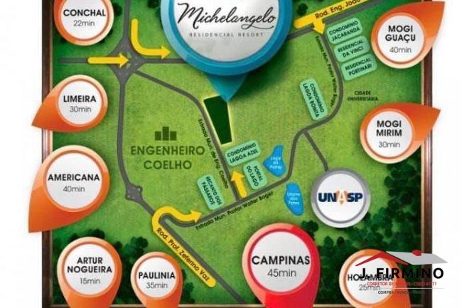 Terreno para Venda no bairro Michelangelo Residencial Resort – 01395 - Foto 13 / 14